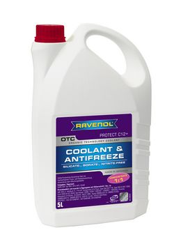 RAVENOL OTC Organic Techn. Coolant Concentrate 1410110-005-01-999 5 | L
