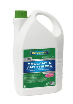 RAVENOL HJC Hybrid Japanese Coolant Concentrate 1410122-005-01-999 5 | L