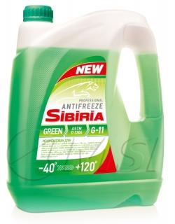Sibiria antifreeze ОЖ-40 зеленый (5кг)