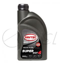 тормозная жидкость SINTEC SUPER DOT-4, температура кипения +240°С (ДОТ-4) (910г)