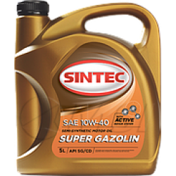SINTEC Super Gazolin SAE 10w40 API SG/CD (4л)