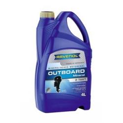 RAVENOL Outboardoel 2T Mineral 1153200-004-01-999 4   L