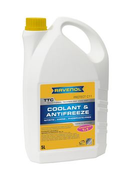 RAVENOL TTC Trad.Techn. Coolant Concentrate 1410100-005-01-999 5 | L