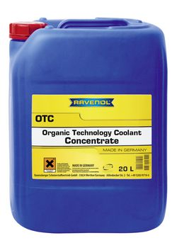 RAVENOL OTC Organic Techn. Coolant Concentrate  1410110-020-01-999 20 | L