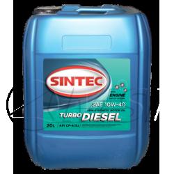 SINTEC Turbo Diesel SAE 10w-40 API CF-4/CF/SJ  (20 л)