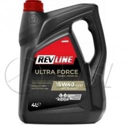 Масло моторное 15w40 Ultra Force SL /SJ /CF REVLINE, 4л