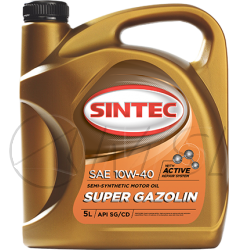 SINTEC Super Gazolin 10W-40 SG/CD(3 л)