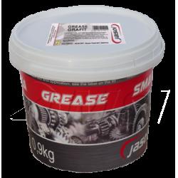 Смазка графитовая Grafit Grease JASOL, 0.9кг
