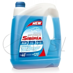 Sibiria antifreeze ОЖ-40 синий (10кг)
