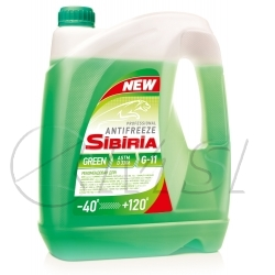 Sibiria antifreeze ОЖ-40 зеленый (10кг)